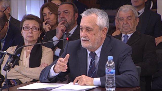 José Antonio Griñán declara en jucio