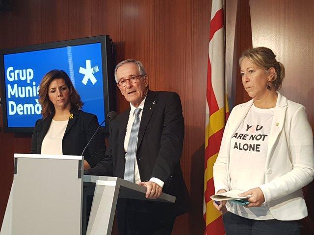 Francina Vila, Xavier Trias i Neus Munté