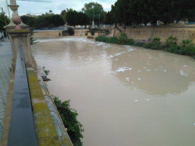 Espumas río Segura