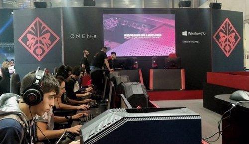 Estand HP Madrid Games Week