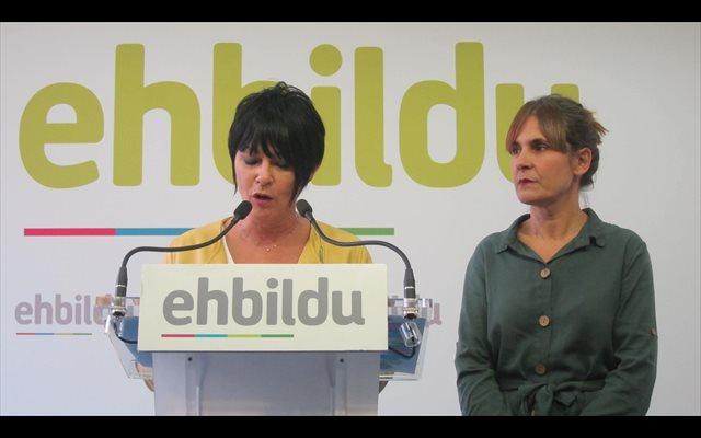 EH Bildu plantea invertir 420 millones en complemento de pensiones y empleo para facilitar la aprobación de las cuentas