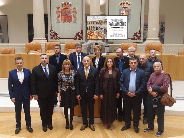 Visita cónsul Rumanía
