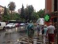 LAS LLUVIAS DEJAN 100 INCIDENTES, VARIOS POR GENTE ATRAPADA EN SUS VEHICULOS EN POLLENÇA