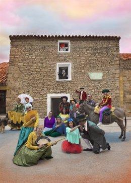 Ouka Leele ha creado un Disparate con las fotografías que captó en Fuendetodos