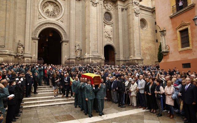 Piden una condecoración más alta al guardia civil muerto en acto de servicio en Huétor Vega (Granada)