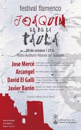 Presentación del cartel Joaquín el de la Paula en Alcalá de Guadaíra.
