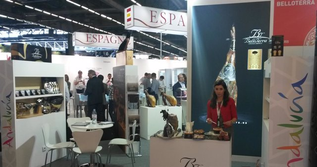 Stand de empresa andaluza en SIAL 2014.