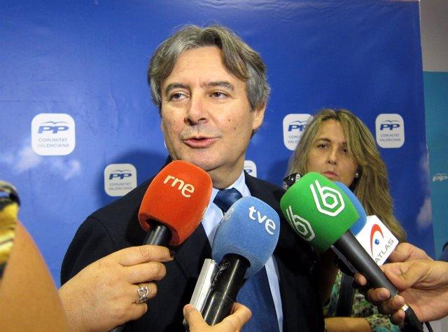 Rubén Moreno, portavoz de Sanidad del PP en Congreso