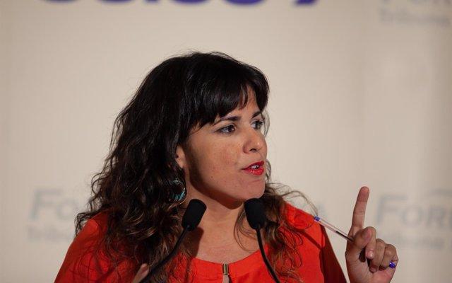 Teresa Rodríguez ve un 'escándalo' que el TS revise la decisión sobre quién debe pagar el impuesto sobre las hipotecas