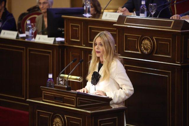 Carmen Calvo en la inauguración del VII Congreso del Observatorio contra la Viol
