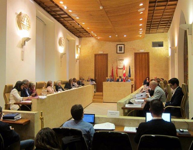Pleno del Ayuntamiento de Salamanca, 19-10-18