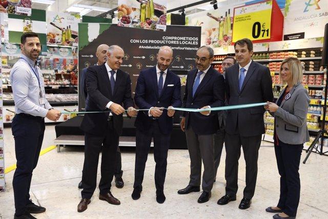 Landaluz y Carrefour promocionan productos andaluces
