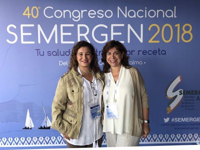 Doctoras en el Congreso de Semergen