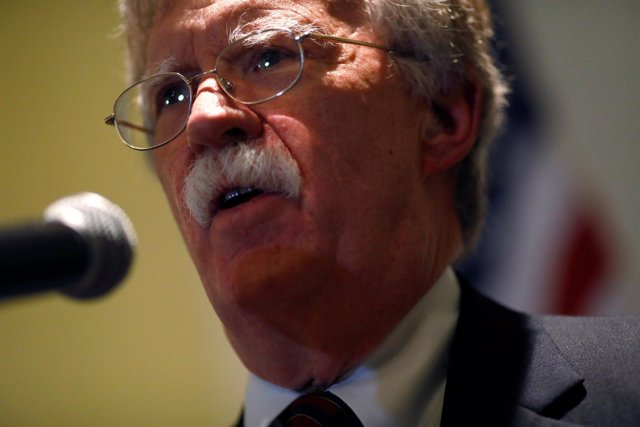 El asesor de Seguridad Nacional estadounidense, John Bolton