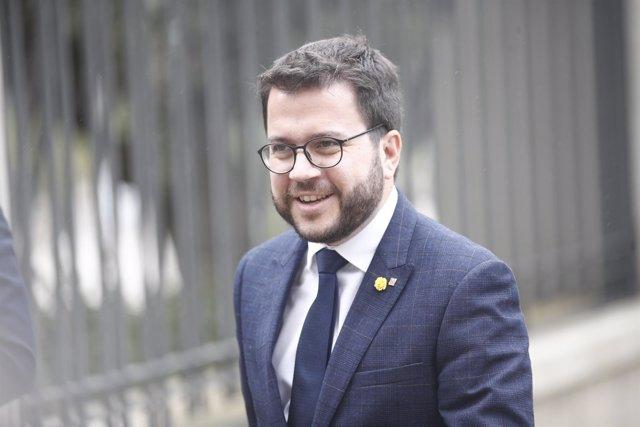 El vicepresidente del Govern y consejero de Economía, Pere Aragonès