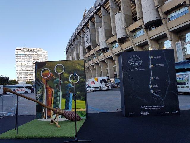 Madrid Ciudad Mágica, muestra urbana de Harry Potter