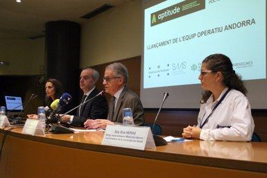 Andorra, Espanya i França col·laboren per prevenir la dependència de les persones grans (EUROPA PRESS)