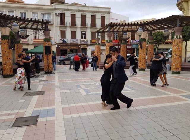 Exhibición de tango en Melilla