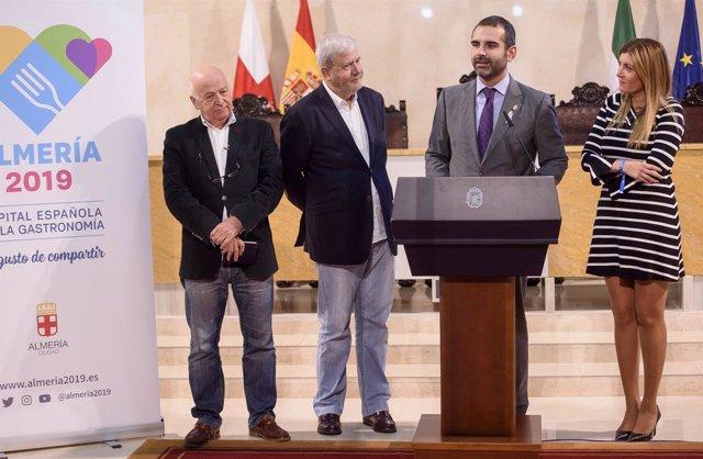 Rueda de prensa sobre la elección de Almería 2019