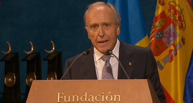 El presidente de la Fundación Princesa Luis Fernández-Vega