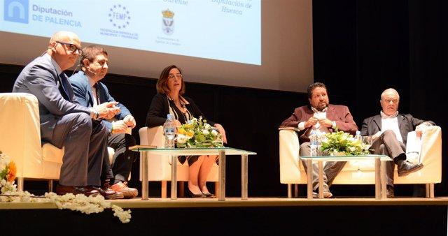 Miguel Gracia en el III Congreso sobre Despoblación del Medio Rural