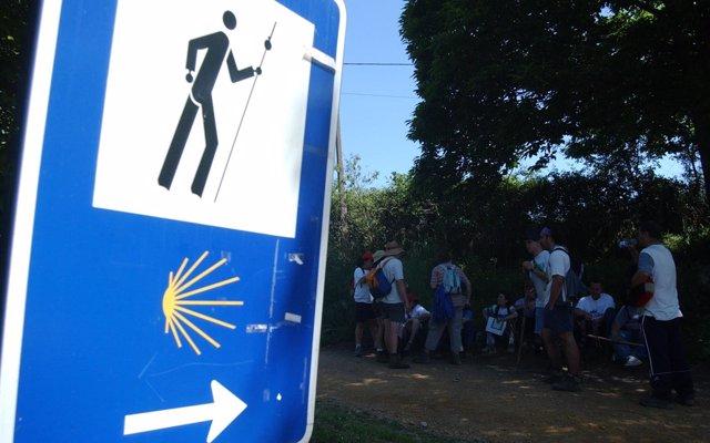 Un joven sordociego recorrerá en bicicleta este fin de semana más de 100 kilómetros del Camino de Santiago