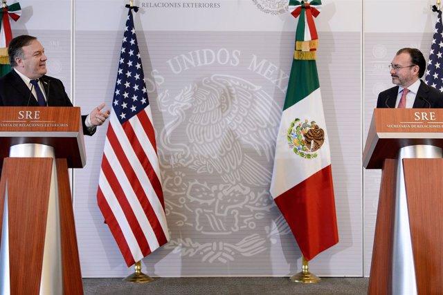 Mike Pompeo y Luis Videgaray