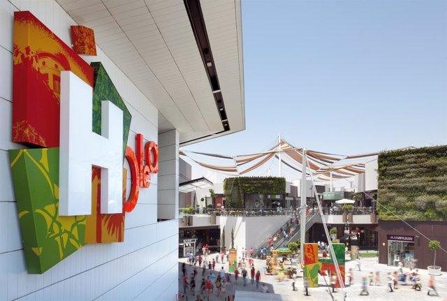 Centro comercial Holea en Huelva.