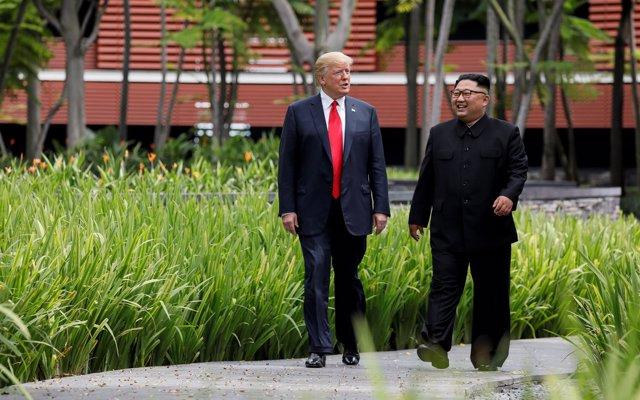 La próxima cumbre entre Trump y Kim podría celebrarse a principios de 2019