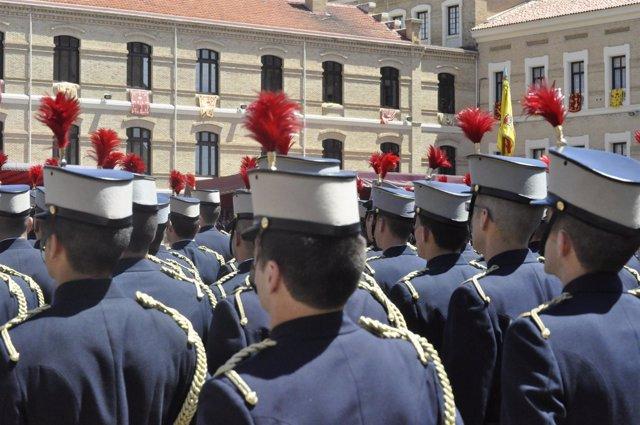 Formación De Cadetes De La AGM.