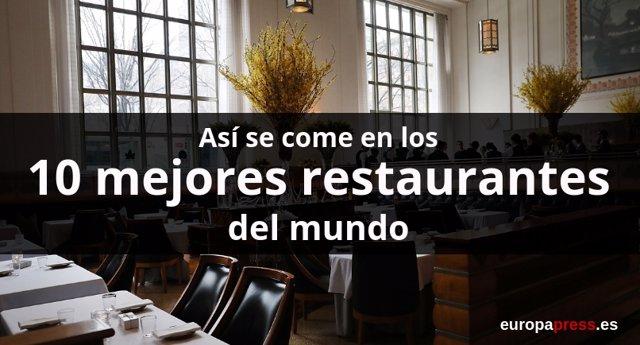 Portada de restaurantes