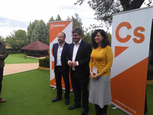Fran Hervías, Orlena de Miguel y Alejandro Ruiz