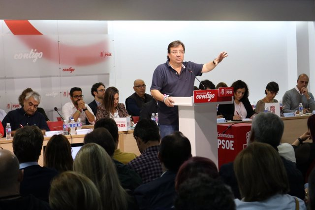 Vara en el Comité Regional del PSOE