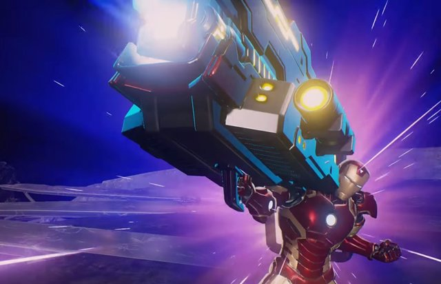 Iron Man en el videojuego Marvel vs Capcom