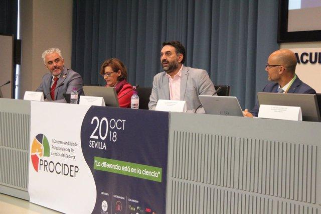 Francisco Javier Fernández, en Congreso de Profesionales de Ciencias de Deporte