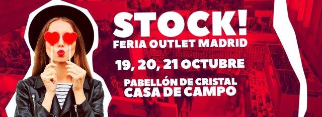 Cartel Stock Feria Outlet