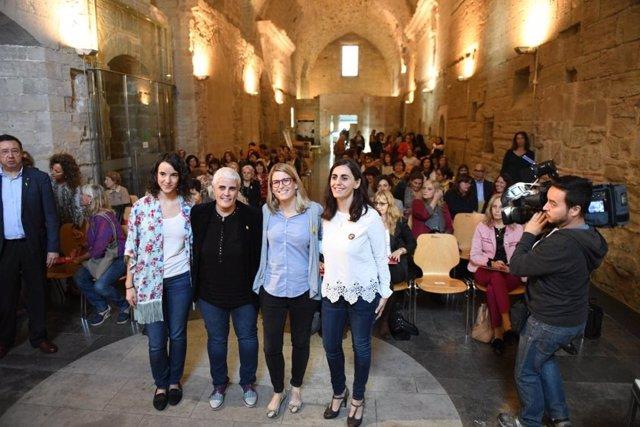 Elsa Artadi en el Consell Nacional dels Dons de Catalunya