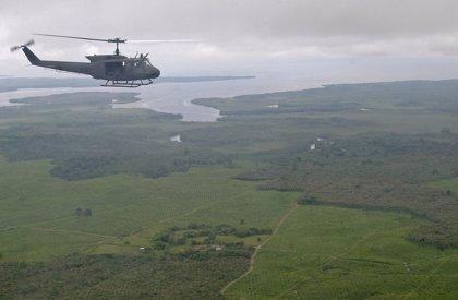 Mueren cuatro militares colombianos en el accidente de un helicóptero UH-60 en el suroeste del país