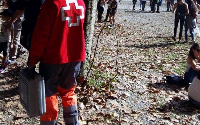 Cruz Roja organiza un dispositivo de 30 voluntarios para el Nafarroa Oinez 2018