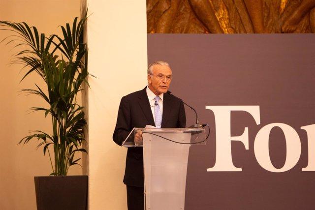 El presidente de Criteria Caixa y de la Fundación Bancaria La Caixa Isidro Fainé