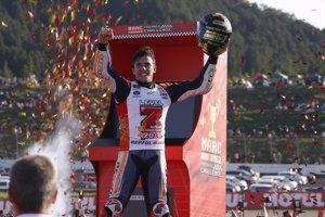 Marc Márquez, campió del món de MotoGP per cinquena vegada (REPSOL MEDIA)