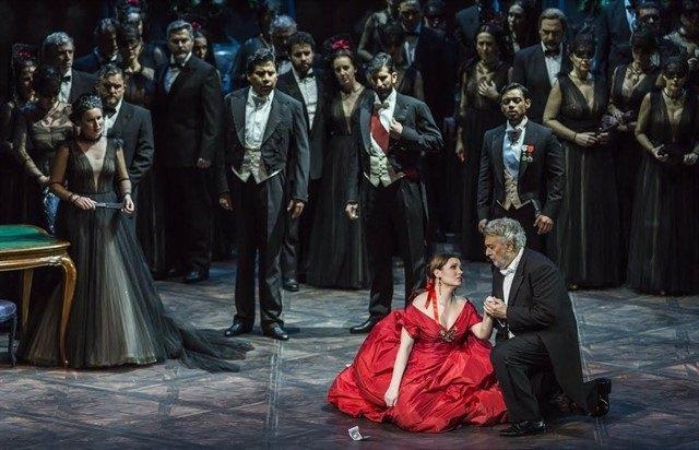 La ópera 'La traviata'