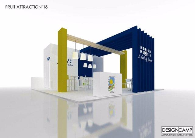 El stand de la Región de Murcia