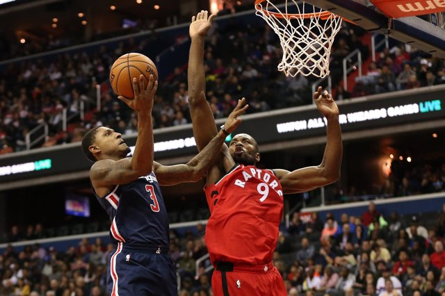 Serge Ibaka Toronto Raptors Washington Wizards Bradley Beal