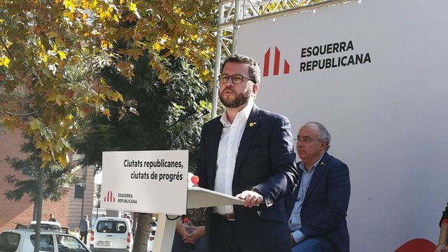 El 'número tres' de ERC y vicepresidente de la Generalitat, Pere Aragonès