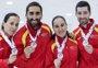 España, subcampeona del Mundial de curling mixto