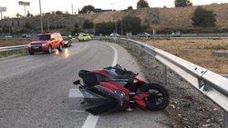 Mor un motorista per un xoc a la B-20 al Prat de Llobregat (Barcelona) (EMERGENCIAS 112 MADRID - Archivo)