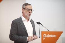 """Villegas (Cs) creu que Sánchez """"seria capaç de cometre il·legalitats"""" per acontentar als separatistes (Eduardo Parra - Europa Press)"""