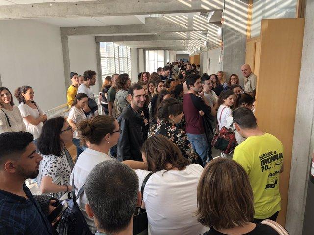 Un total de 367 personas se presentan al concurso-oposición de Salud para cubrir 93 plazas de técnico sanitario