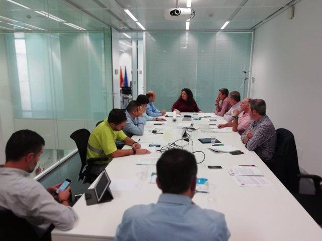 Reunión del Comité Asesor del Plan de Emergencias de Sevilla por inundaciones